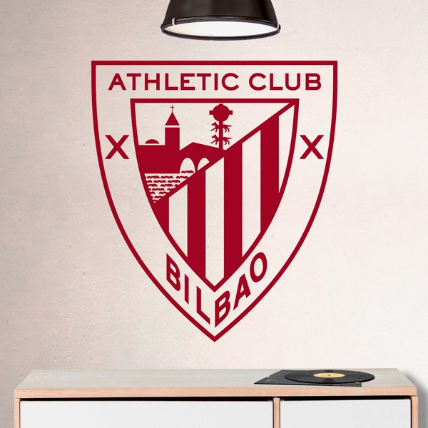Wall Stickers: Athletic Club de Bilbao Badge