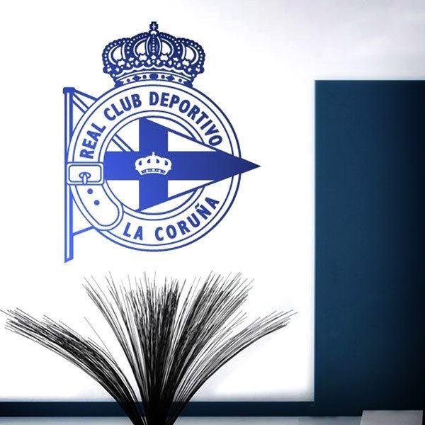 Wall Stickers: Deportivo de la Coruña Badge