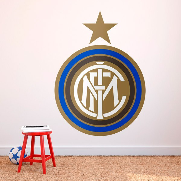 Wall Stickers: Inter Milan Badge color