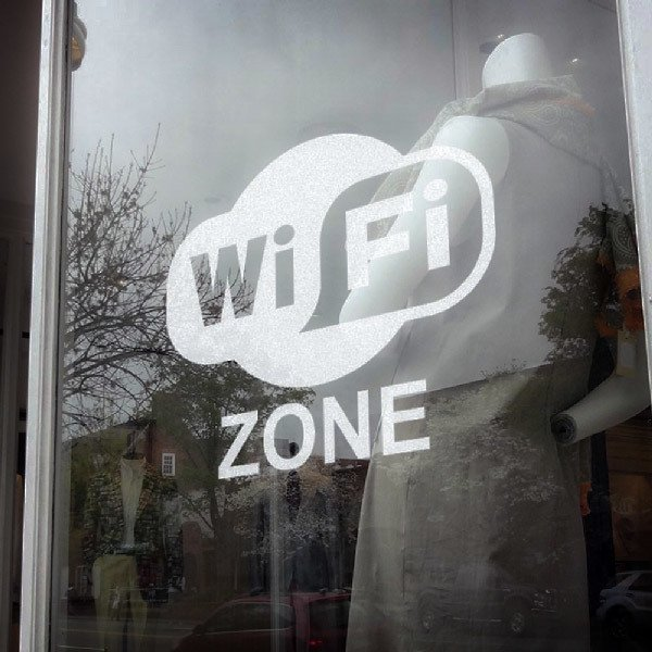 Wall Stickers: Wifi zone