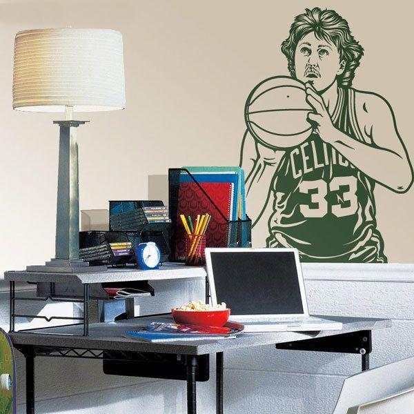 Wall Stickers: Larry Bird 1