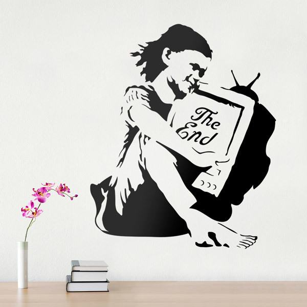 Wall Stickers: Banksy The End