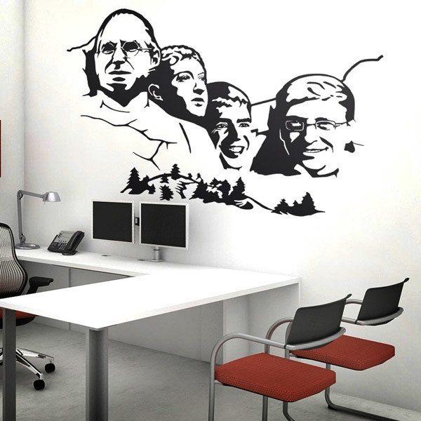Wall Stickers: Mount Rushmore Geek