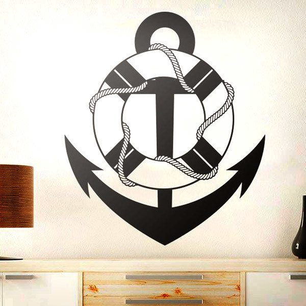 Wall Stickers: Marine Anchor 2
