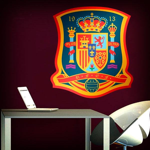 Wall Stickers: RFEF Badge