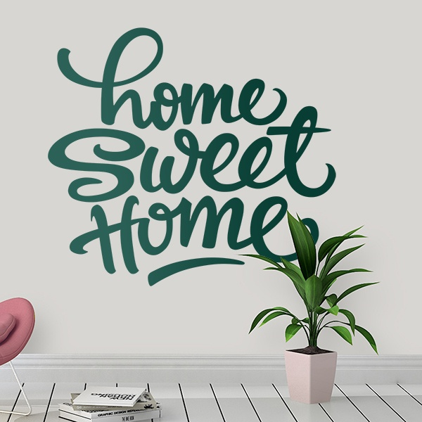 Wall Stickers: Home Sweet Home