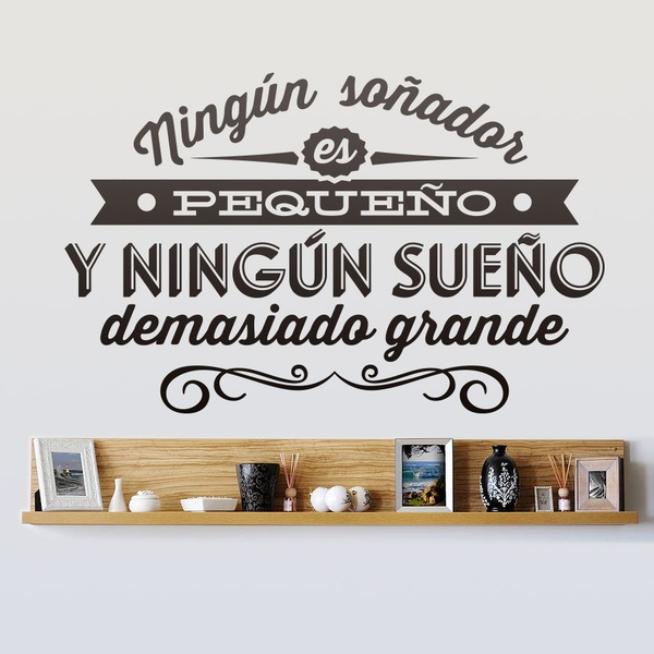 famous phrase wall stickers