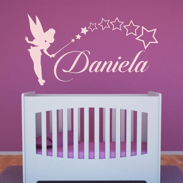 Stickers for Kids: Custom Tinkerbell fairy