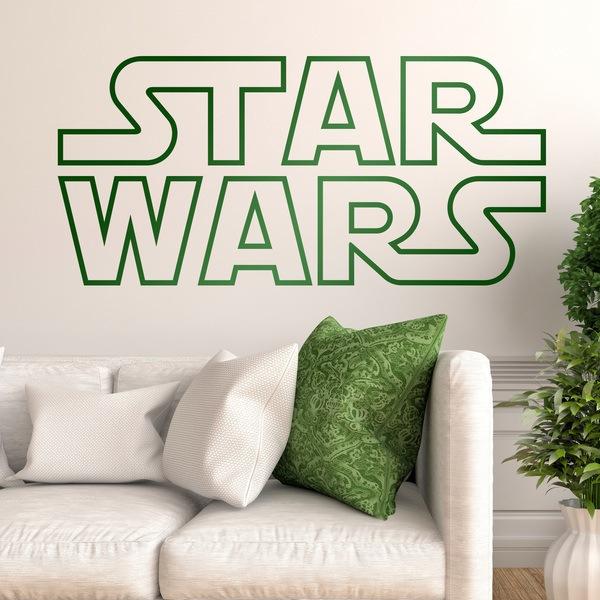 Wall Stickers: Star Wars Logo border