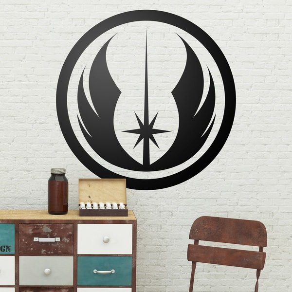 Wall Stickers: Symbol of the Jedi Order