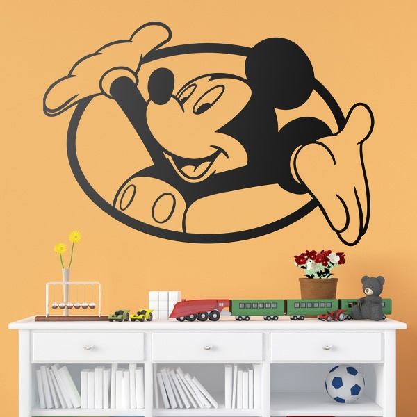 Stickers for Kids: Mickey Mouse window