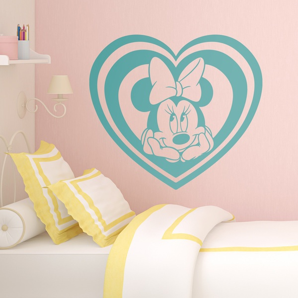 Stickers for Kids: Minnie Mouse Heart