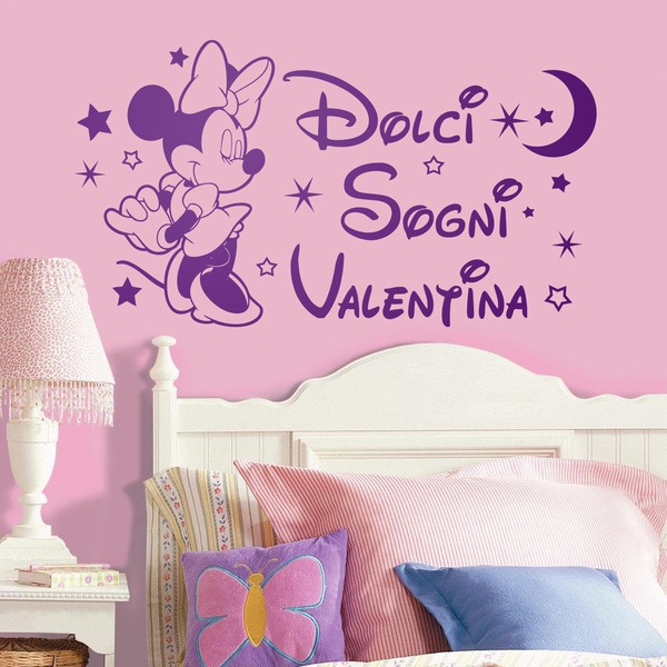 Stickers for Kids: Minnie Mouse Dolci Sogni