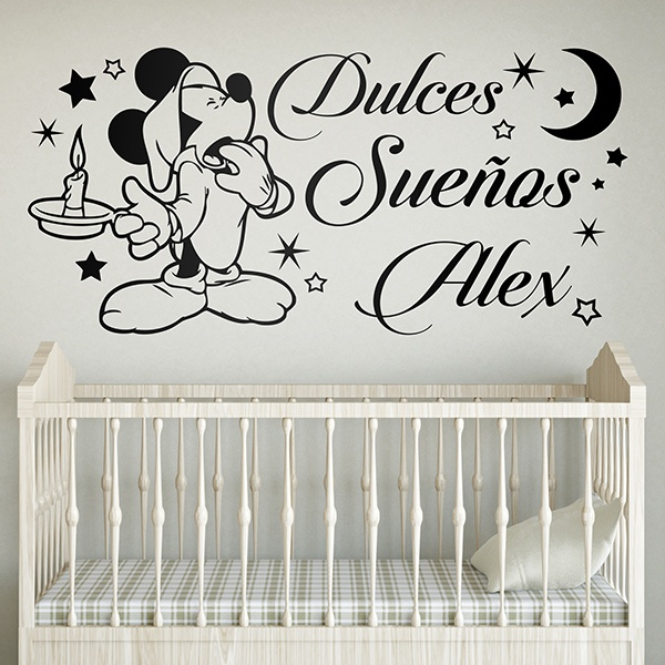 Stickers for Kids: Mickey Mouse Dulces Sueños