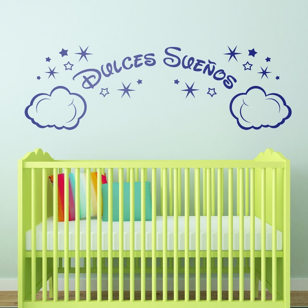Stickers for Kids: Clouds and Stars Dulces Sueños