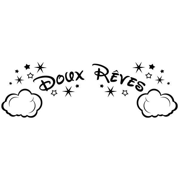Stickers for Kids: Clouds and Stars Doux Rêves