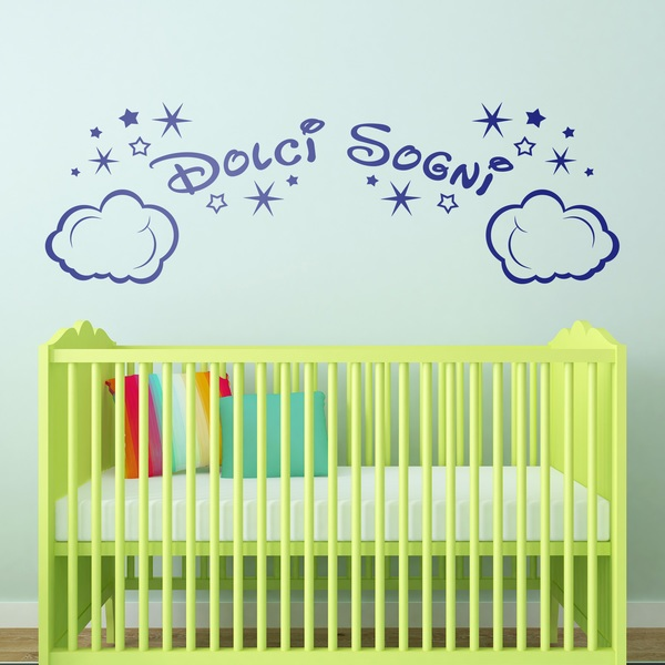 Stickers for Kids: Clouds and Stars Dolci Sogni