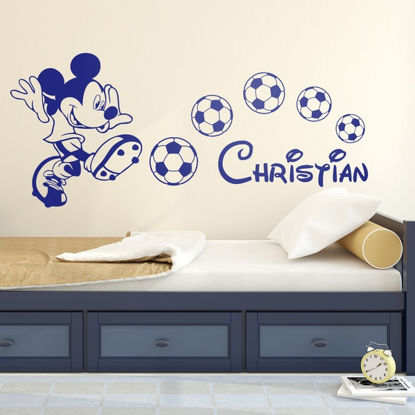 Stickers for Kids: Mickey Mouse Football 1