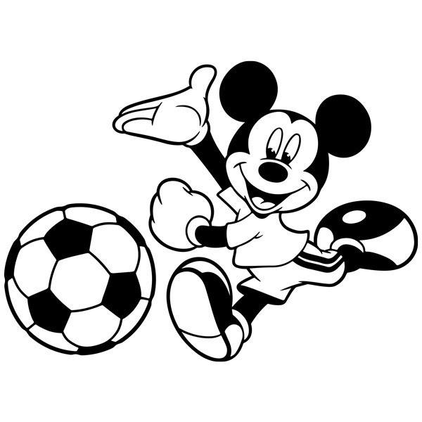 Stickers for Kids: Mickey Mouse Football 2