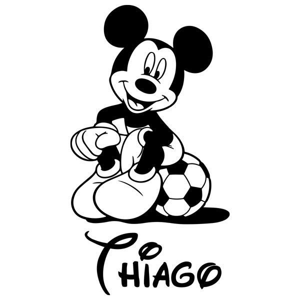 Stickers for Kids: Mickey Mouse Football 4