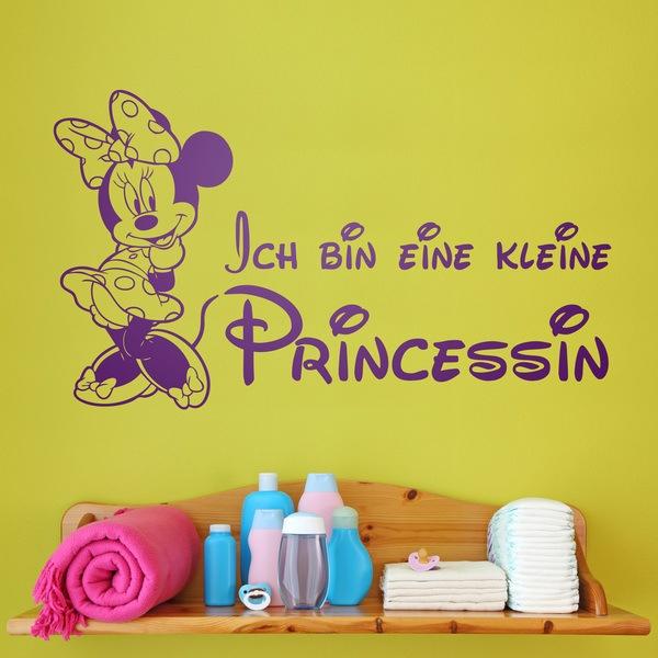 Stickers for Kids: Minnie Ich bin eine kleine Princessin