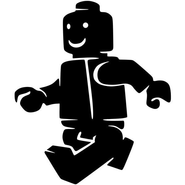 Stickers for Kids: Figure Lego Walking