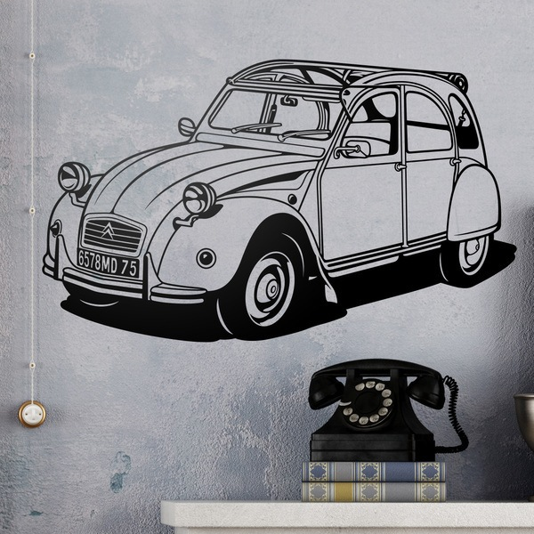 Wall Stickers: Citroën 2CV
