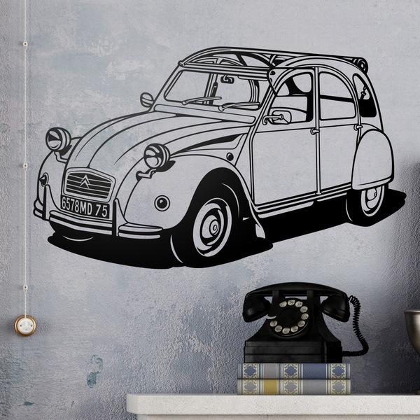 Wall Stickers: Citroën 2CV