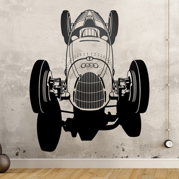 Wall Stickers: Audi Racer Classic 0