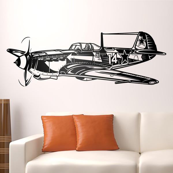 Wall Stickers: World War II fighter plane