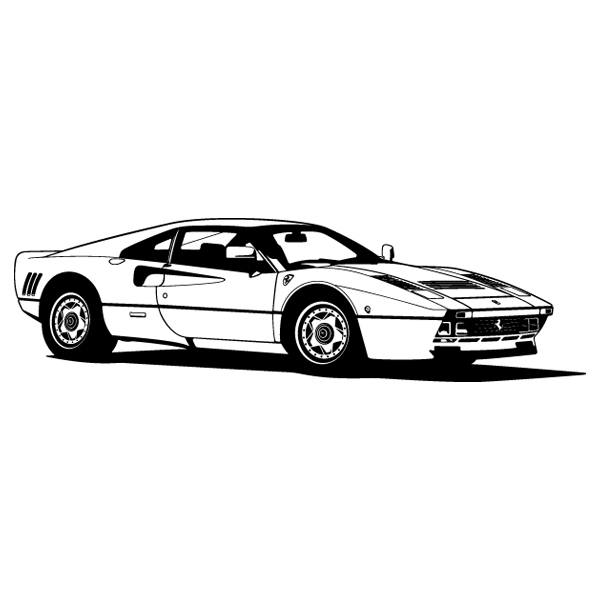 Wall Stickers: Ferrari 288 GTO