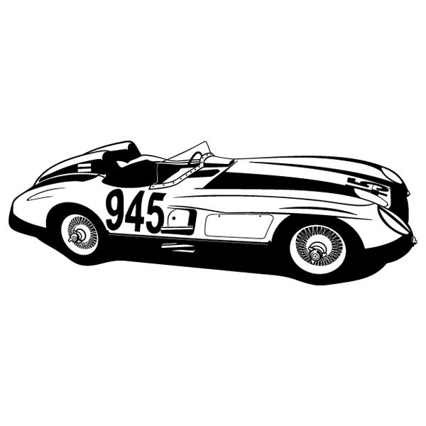 Wall Stickers: Ferrari 250 testa rossa - 1957