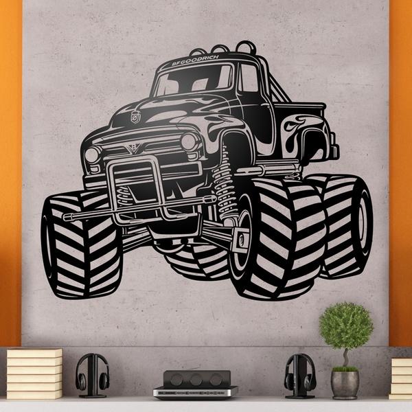 Wall Stickers: Monster Truck BigFoot