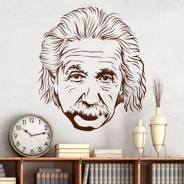 Wall Stickers: Albert Einstein 2