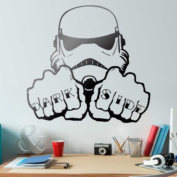 Wall Stickers: Stormtrooper Dark Side Tattoo hands
