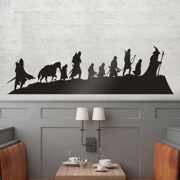 Wall Stickers: Skyline The Lord of the Rings
