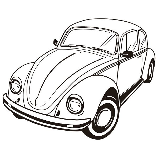 Wall Stickers: Volkswagen Beetle 2