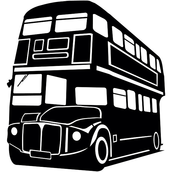 Wall Stickers: London Bus