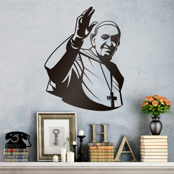 Wall Stickers: Pope Francisco