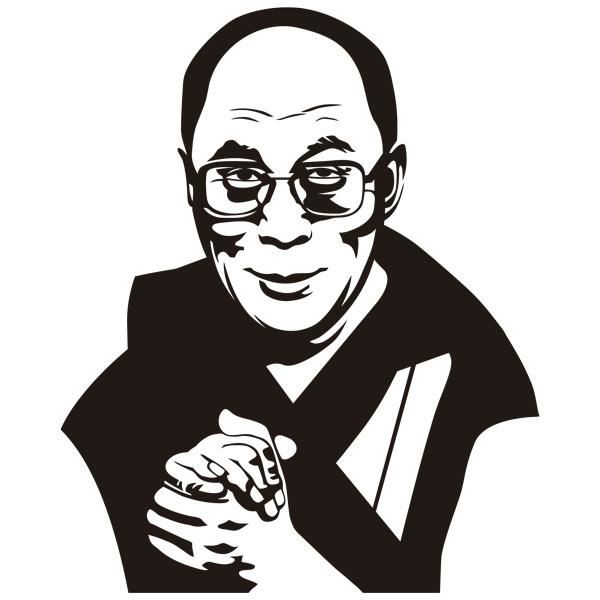 Wall Stickers: Dalai Lama