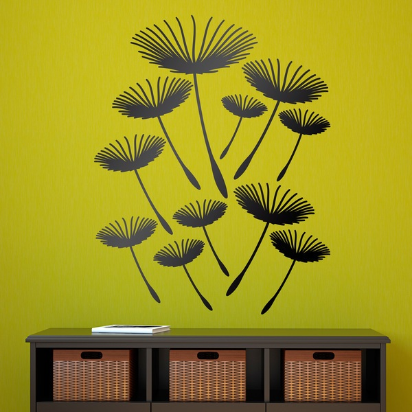 Wall Stickers: Dandelions flying