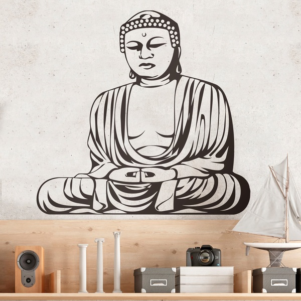 Wall Stickers: Wise Buddha