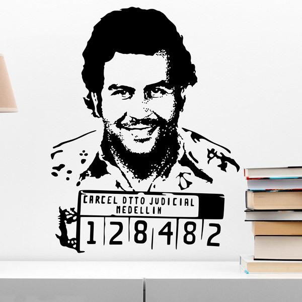 Wall Stickers: Pablo Escobar