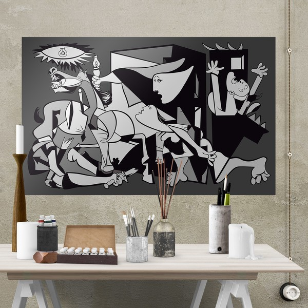 Wall Stickers: Adhesive poster Gernika Picasso