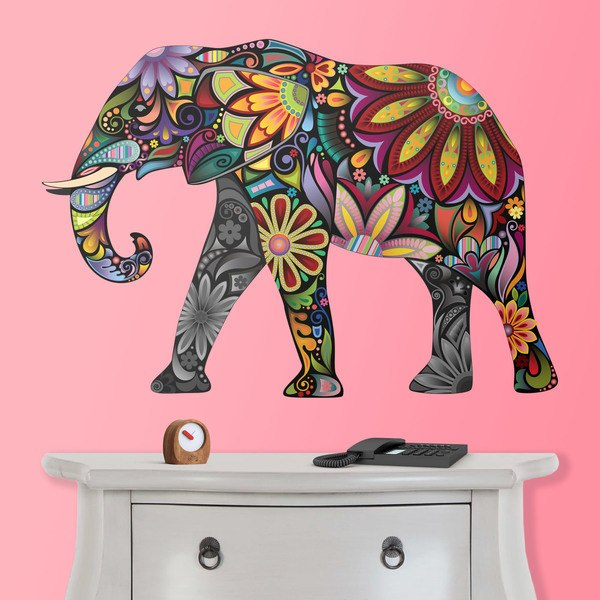 Wall Stickers: Indian Elephant