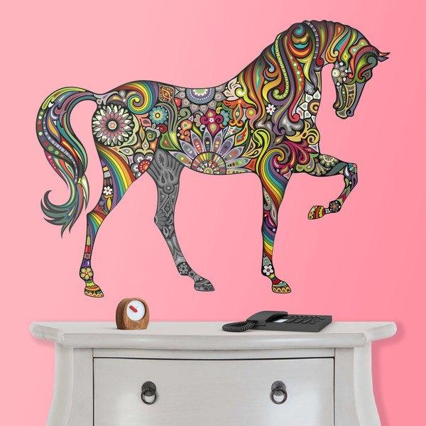 Wall Stickers: Hindu Horse