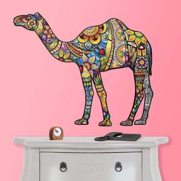 Wall Stickers: Hindu camel