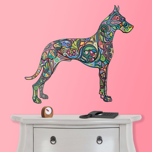Wall Stickers: Hindu dog