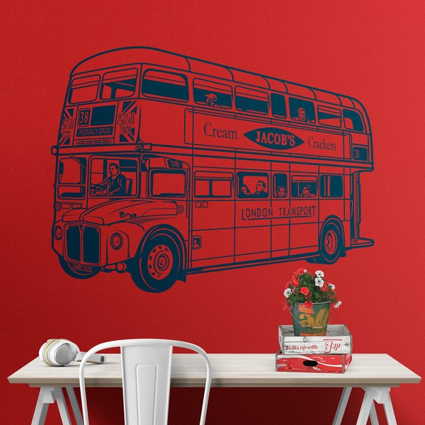 Wall Stickers: Routemaster bus