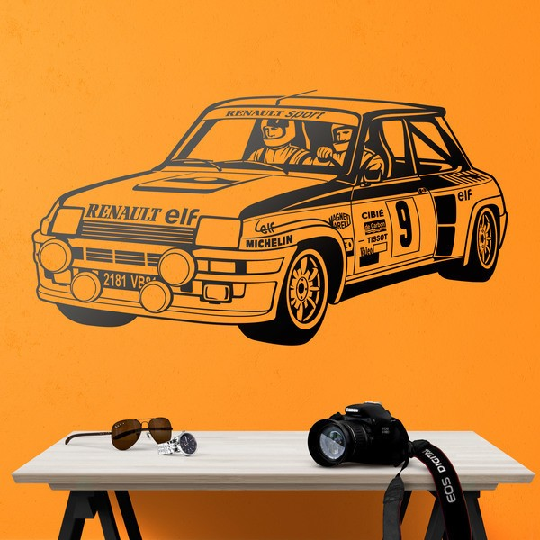 Wall Stickers: Renault 5 Turbo Rallye